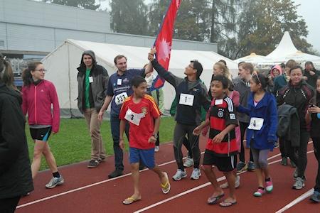 Nepallauf 2014 Gati Nima Freiberg